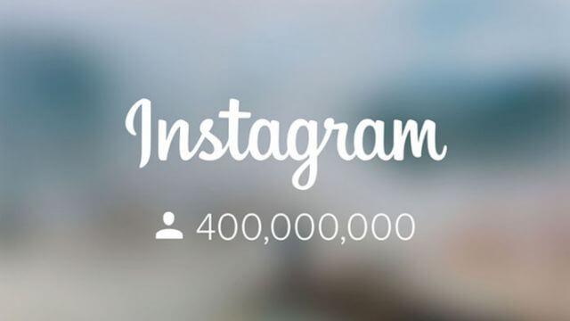 Instagram arriva a 400 milioni di utenti
