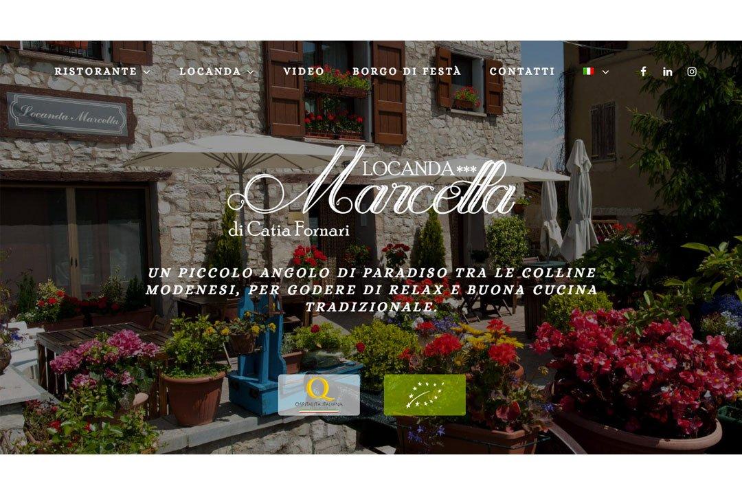 Locanda Marcella website